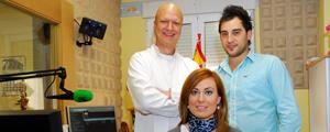 Manu Freire, Teresa García y Ruben
